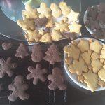 クリスマスクッキー手作りサクサクレシピ!ココアとプレーン味絶品